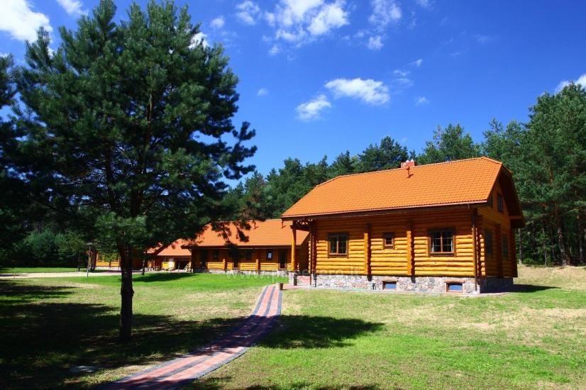 Lauku māja pie ezera Asvejas, Lietuvā - 1