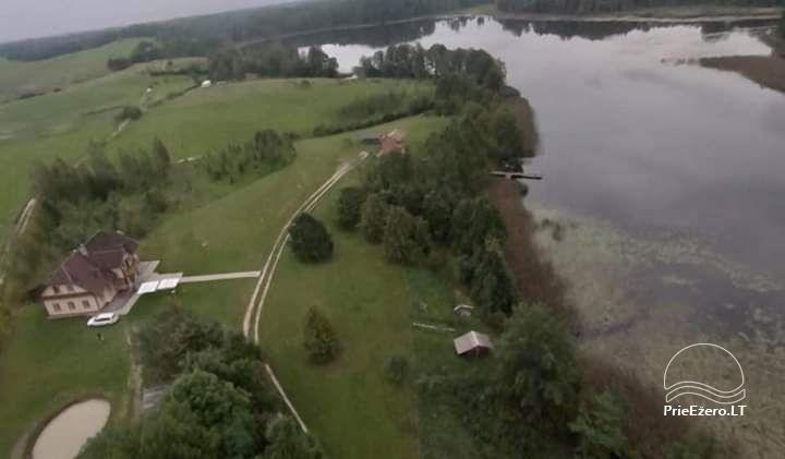 Lauku māja pie ezera Geltonžiedė liepa - 2