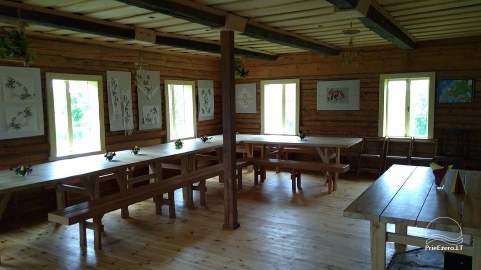 Lauku māja pie ezera Geltonžiedė liepa - 7