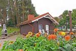 Brīvdienu māja diviem ar saunu ezera krastā, sēta Pas Drambliuką