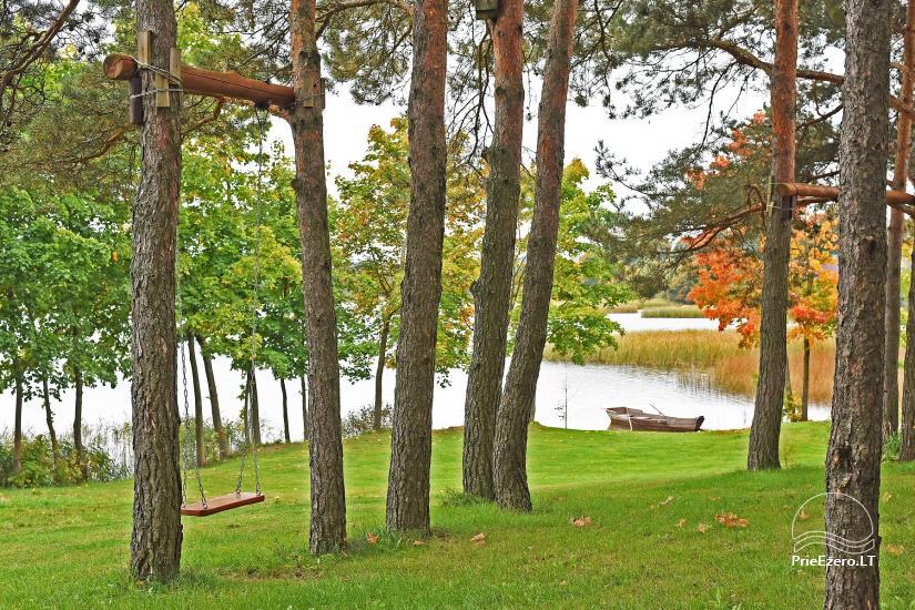 Cozy māja ar pirti krastā ezera 2 personām - 10