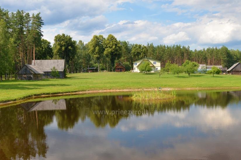 Lauku sēta Vainiūnai in Lazdijai reģionā, Lietuva - 51