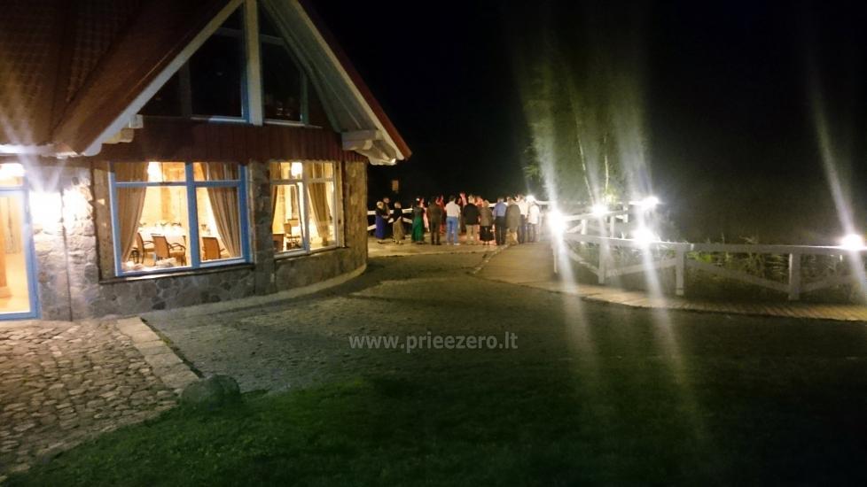 Seta - viesu nams PAMARIO BURĖ pie Kuršu lagūnas ar restorānu, saunu - 6