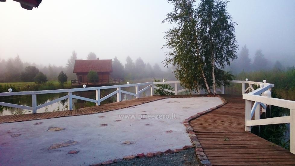 Seta - viesu nams PAMARIO BURĖ pie Kuršu lagūnas ar restorānu, saunu - 9