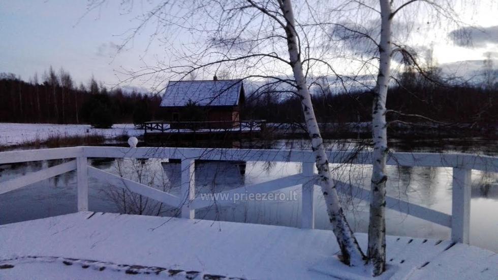 Seta - viesu nams PAMARIO BURĖ pie Kuršu lagūnas ar restorānu, saunu - 31