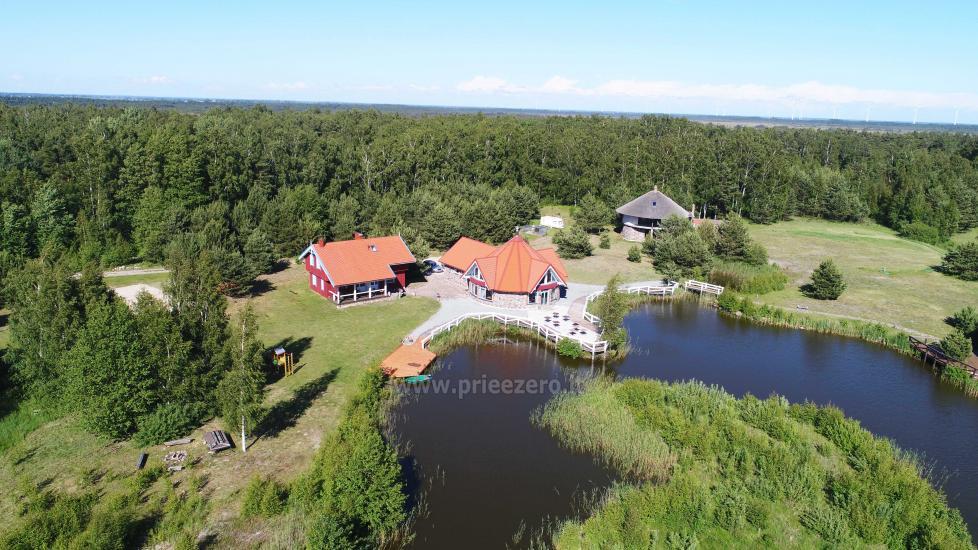 Seta - viesu nams PAMARIO BURĖ pie Kuršu lagūnas ar restorānu, saunu - 1