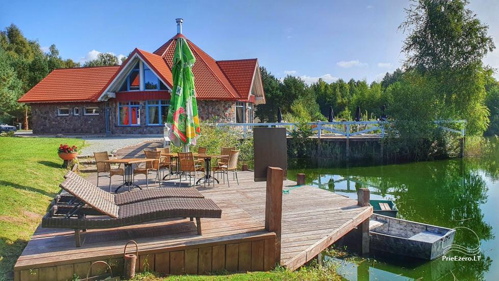 Seta - viesu nams PAMARIO BURĖ pie Kuršu lagūnas ar restorānu, saunu - 2