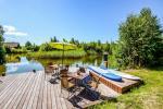 Seta - viesu nams PAMARIO BURĖ pie Kuršu lagūnas ar restorānu, saunu - 8