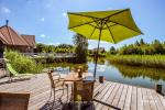 Seta - viesu nams PAMARIO BURĖ pie Kuršu lagūnas ar restorānu, saunu - 10
