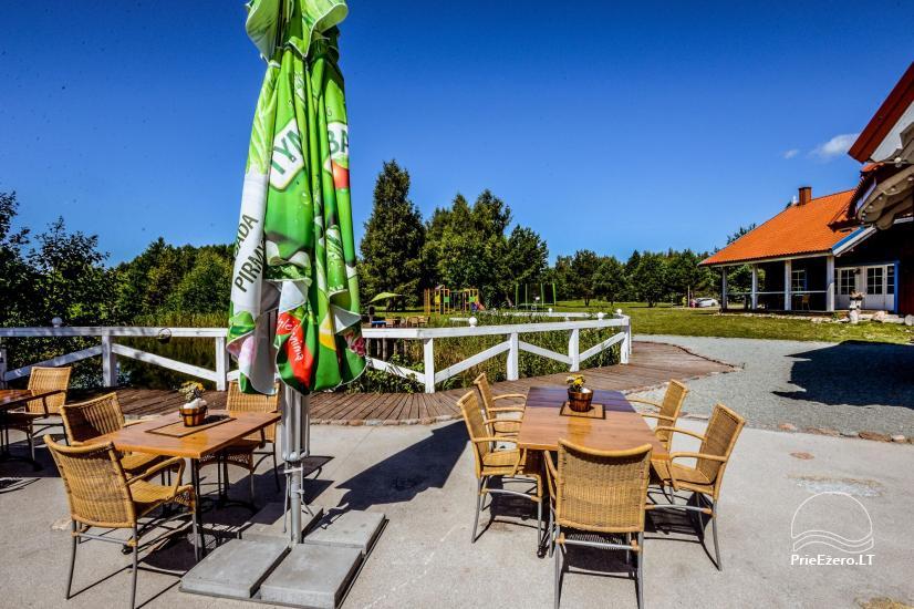 Seta - viesu nams PAMARIO BURĖ pie Kuršu lagūnas ar restorānu, saunu - 13
