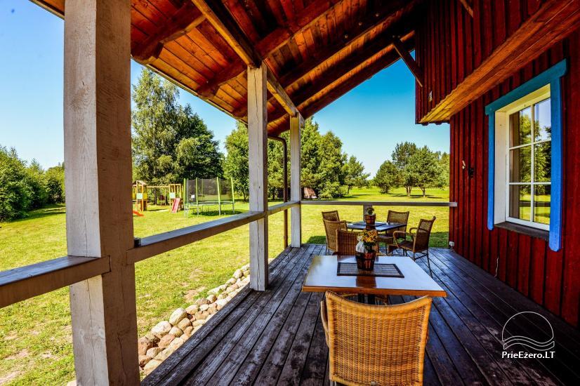 Seta - viesu nams PAMARIO BURĖ pie Kuršu lagūnas ar restorānu, saunu - 15