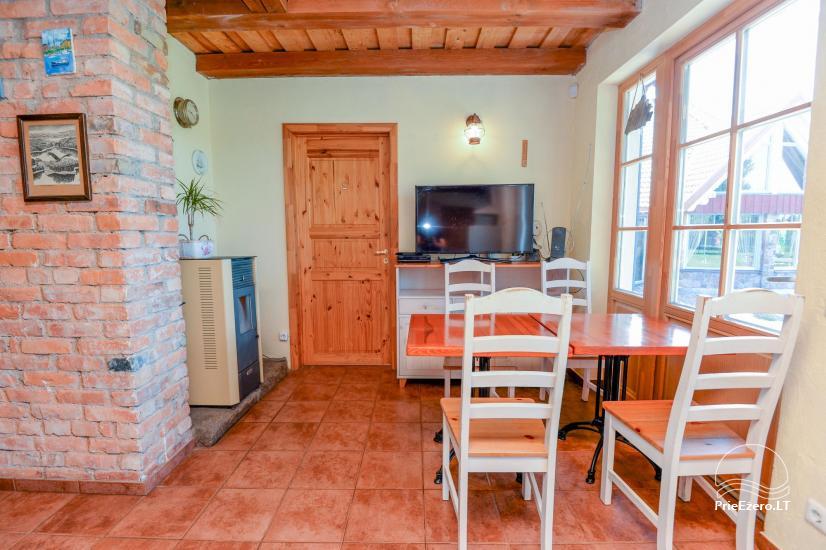 Seta - viesu nams PAMARIO BURĖ pie Kuršu lagūnas ar restorānu, saunu - 18