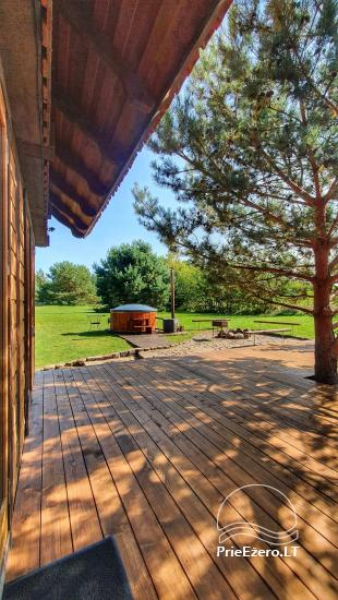 Seta - viesu nams PAMARIO BURĖ pie Kuršu lagūnas ar restorānu, saunu - 30