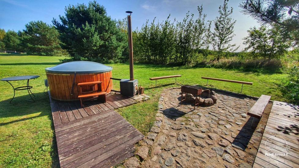 Seta - viesu nams PAMARIO BURĖ pie Kuršu lagūnas ar restorānu, saunu - 32