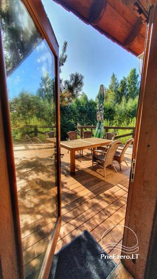Seta - viesu nams PAMARIO BURĖ pie Kuršu lagūnas ar restorānu, saunu - 39