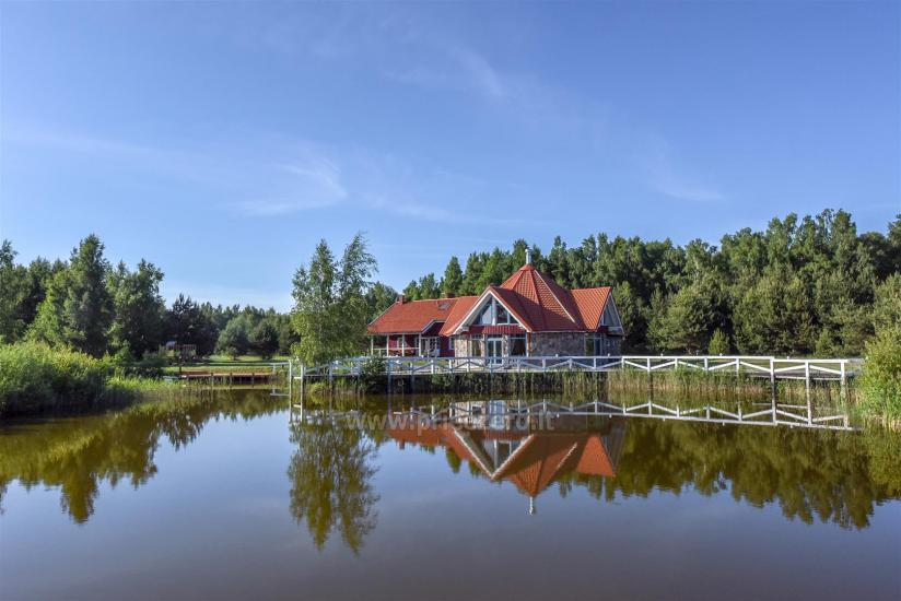 Seta - viesu nams PAMARIO BURĖ pie Kuršu lagūnas ar restorānu, saunu - 3