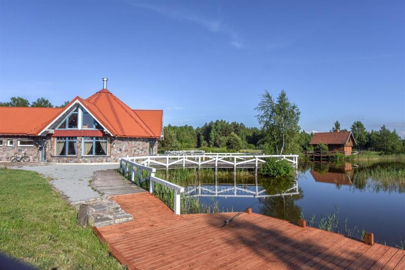 Seta - viesu nams PAMARIO BURĖ pie Kuršu lagūnas ar restorānu, saunu - 4