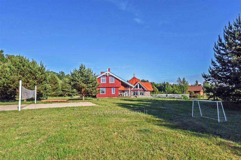 Seta - viesu nams PAMARIO BURĖ pie Kuršu lagūnas ar restorānu, saunu - 5