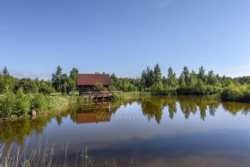 Seta - viesu nams PAMARIO BURĖ pie Kuršu lagūnas ar restorānu, saunu - 14