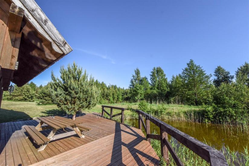 Seta - viesu nams PAMARIO BURĖ pie Kuršu lagūnas ar restorānu, saunu - 16