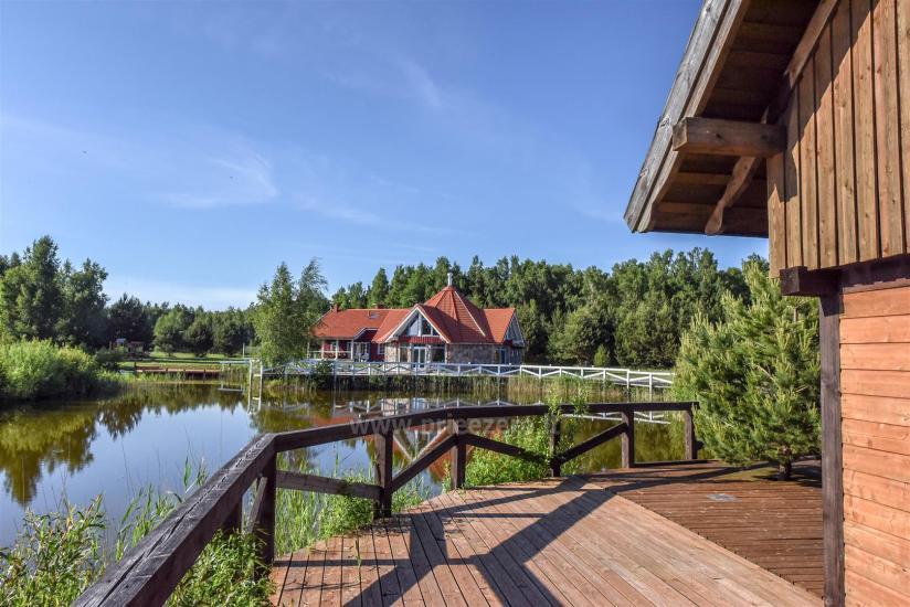 Seta - viesu nams PAMARIO BURĖ pie Kuršu lagūnas ar restorānu, saunu - 17