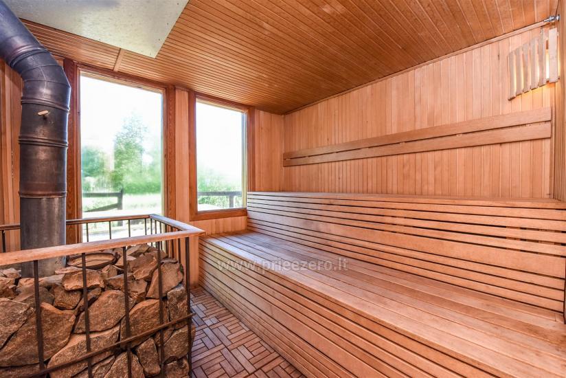 Seta - viesu nams PAMARIO BURĖ pie Kuršu lagūnas ar restorānu, saunu - 20