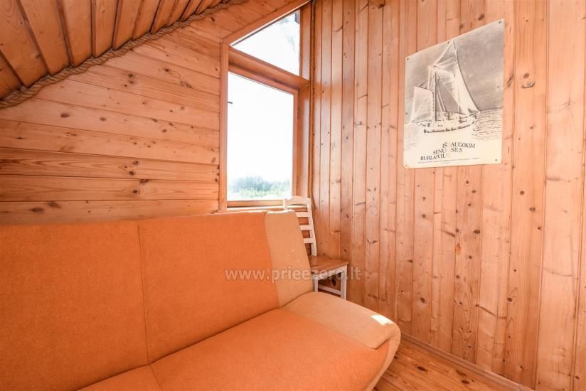 Seta - viesu nams PAMARIO BURĖ pie Kuršu lagūnas ar restorānu, saunu - 22