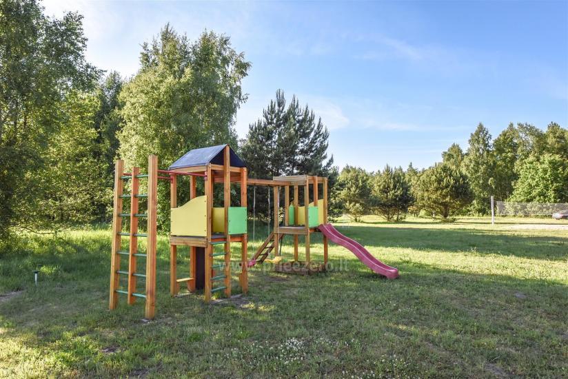 Seta - viesu nams PAMARIO BURĖ pie Kuršu lagūnas ar restorānu, saunu - 7