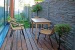 67 kvm. Jaunā divu istabu dzīvoklis Druskupio in Birstonas: pirmajā stāvā, terase - 2