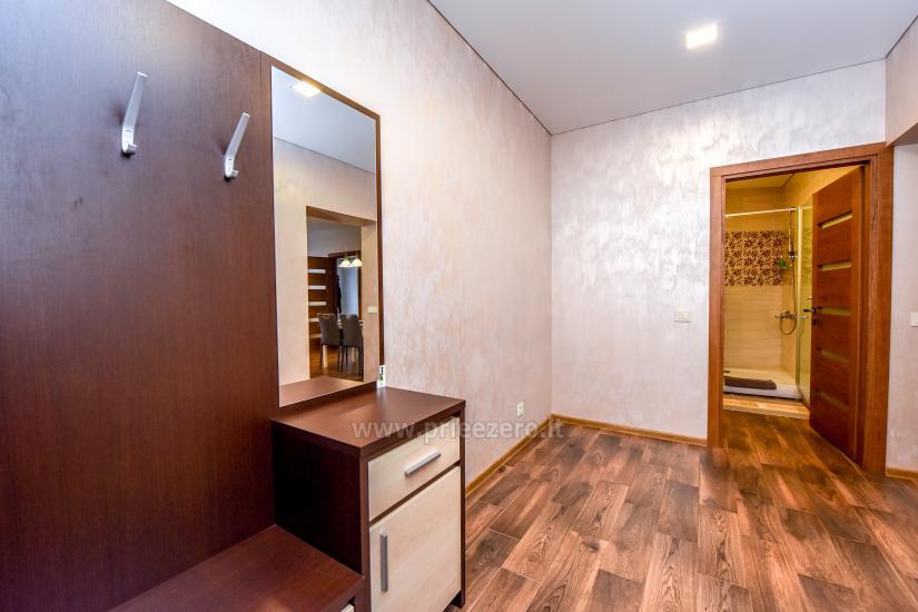 67 kvm. Jaunā divu istabu dzīvoklis Druskupio in Birstonas: pirmajā stāvā, terase - 10
