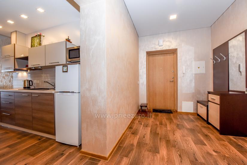 67 kvm. Jaunā divu istabu dzīvoklis Druskupio in Birstonas: pirmajā stāvā, terase - 11