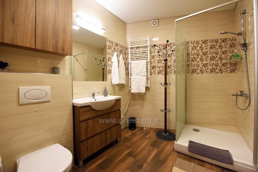 67 kvm. Jaunā divu istabu dzīvoklis Druskupio in Birstonas: pirmajā stāvā, terase - 16