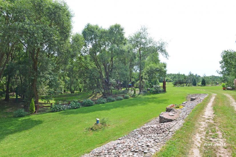 Lauku sēta pie upes Kedainiai reģionā, Lietuvā - 25
