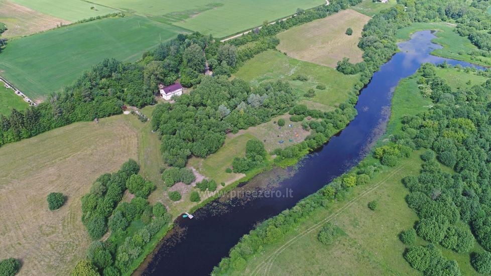 Lauku sēta pie upes Kedainiai reģionā, Lietuvā - 2