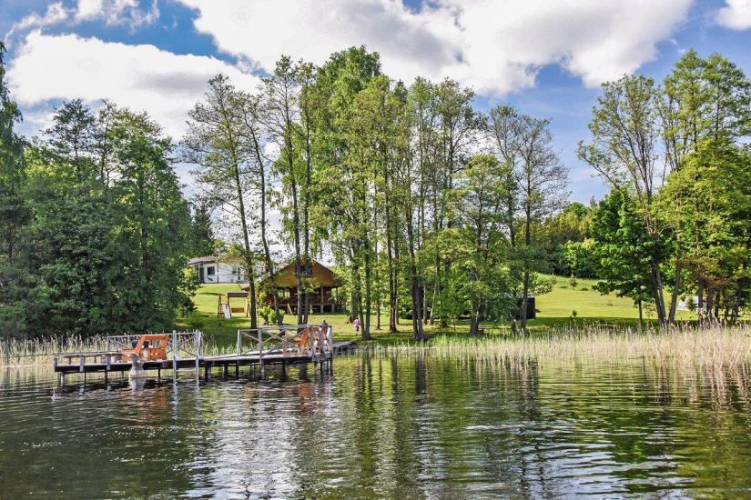 Lauku sēta Little māja netālu no Čičiris ezera - 8