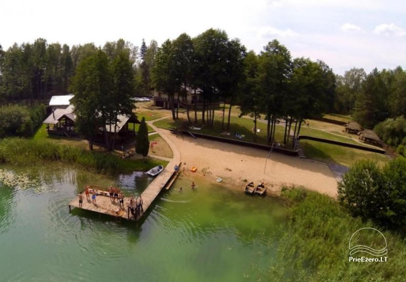 Lauku māja - viesnica pie ezera Burokaraistis Vila Ula - 2