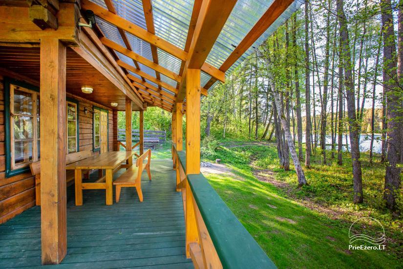 Lauku sēta tuvu Luokesu ezera Moletai rajonā, Lietuvā - 10