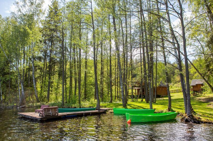 Lauku sēta tuvu Luokesu ezera Moletai rajonā, Lietuvā - 4