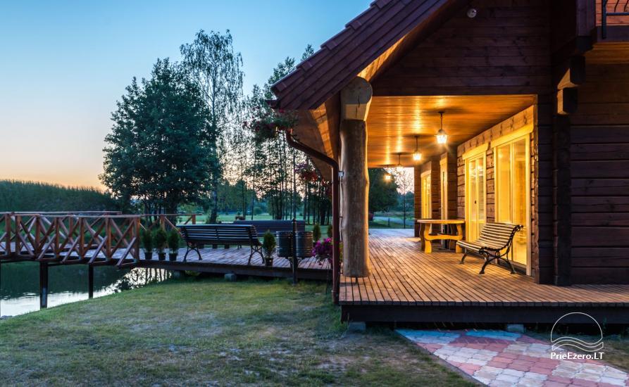 Villa Pasaka pie Kauņas: zāle, pirts, mini SPA, atpūtas un izklaides - 36