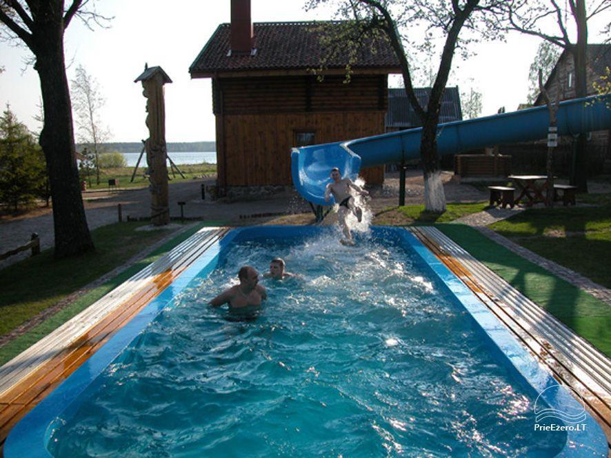 Mājas noma pie ezera Vistytis - 7