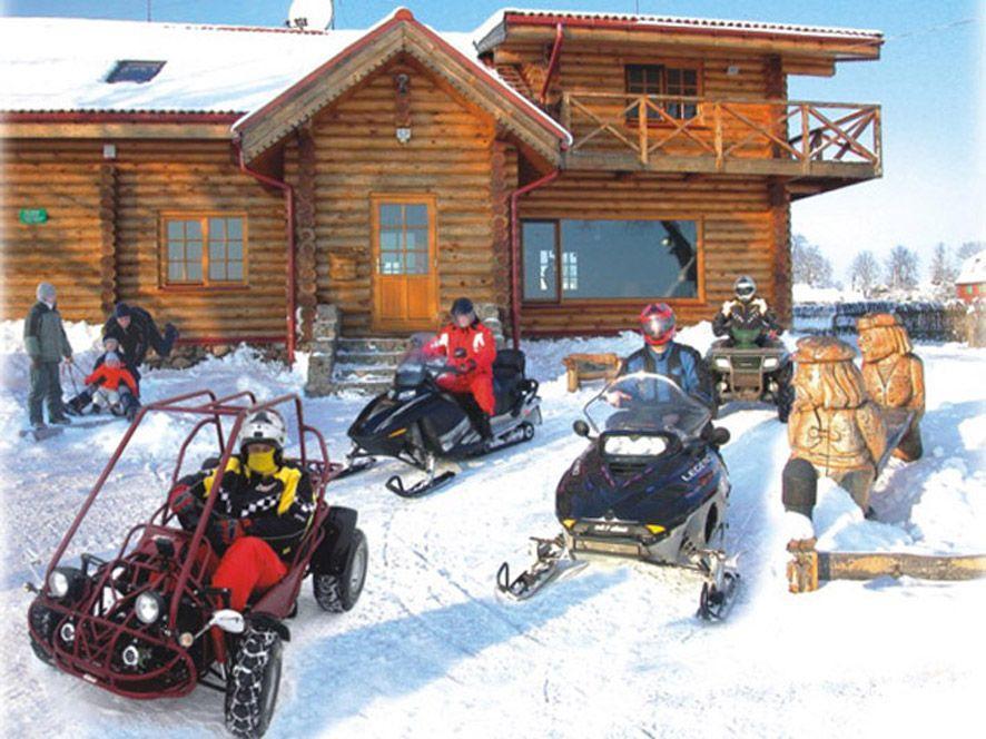 Mājas noma pie ezera Vistytis - 24