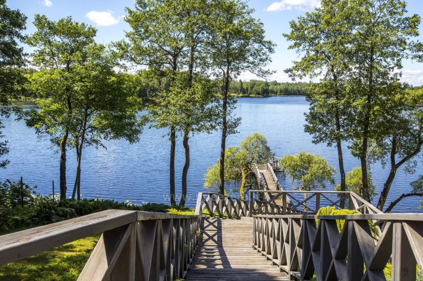 Lauku sēta Frankava uz ezera krastā Traķos reģionā - 10