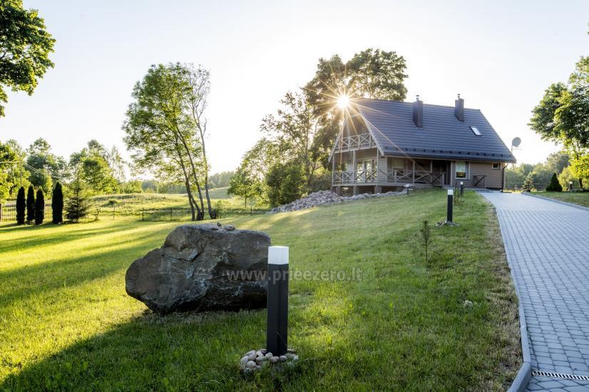 Lauku sēta Frankava uz ezera krastā Traķos reģionā - 1