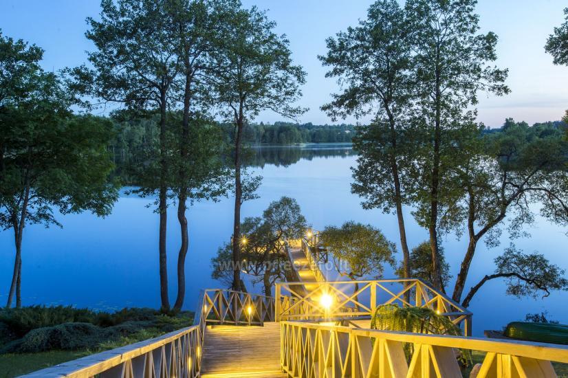 Lauku sēta Frankava uz ezera krastā Traķos reģionā - 14