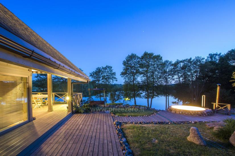 Lauku sēta Frankava uz ezera krastā Traķos reģionā - 16