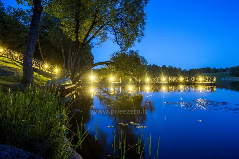Lauku sēta Frankava uz ezera krastā Traķos reģionā - 15