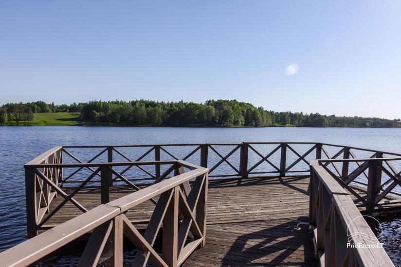 Lauku sēta Frankava uz ezera krastā Traķos reģionā - 12