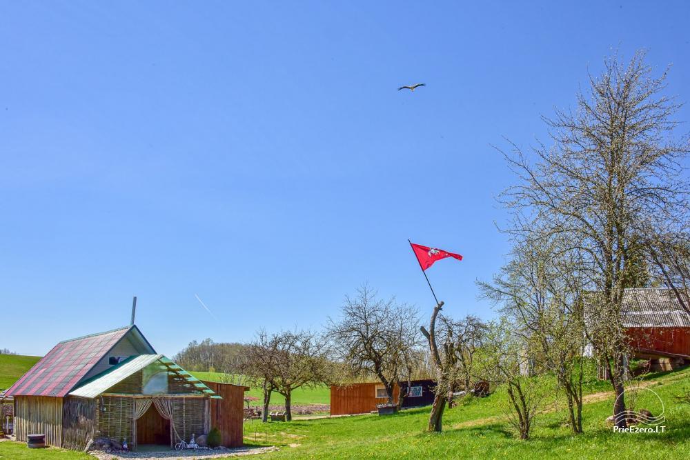 Lauku sēta Stasiuko sodyba Traķu rajonā - 32