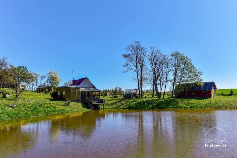 Lauku sēta Stasiuko sodyba Traķu rajonā - 34