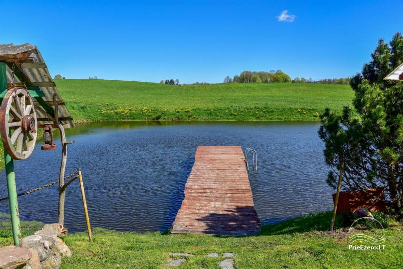 Lauku sēta Stasiuko sodyba Traķu rajonā - 14